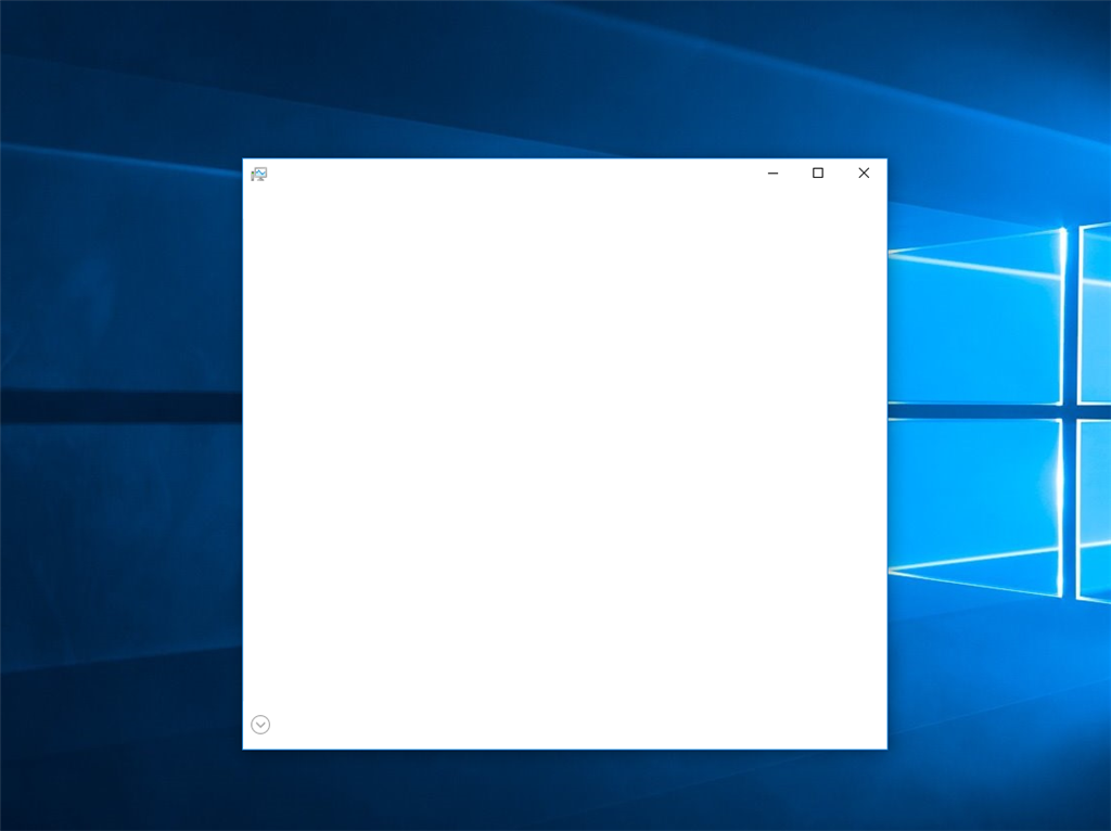 Task Manager Window Completely Blank - Microsoft Community