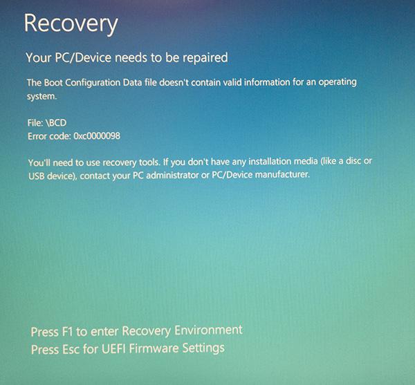 windows 10 winload.exe error 428