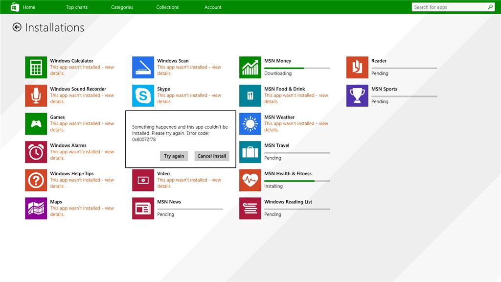 Windows 8 1 apps not updating