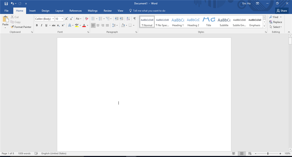 word layout keeps changing whenever i close and reopen a saved