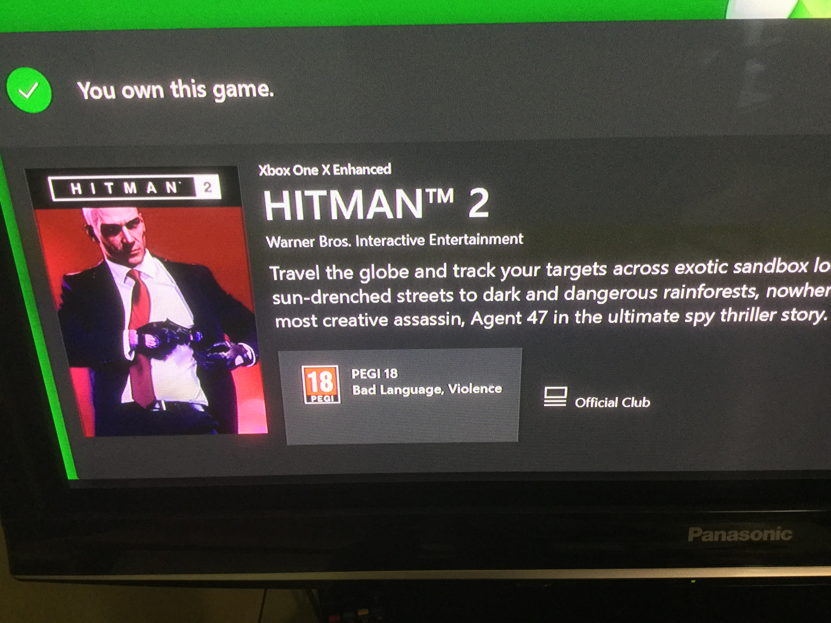 Game Acquired But Not Purchased Hitman 2 Don T Understand Microsoft Community