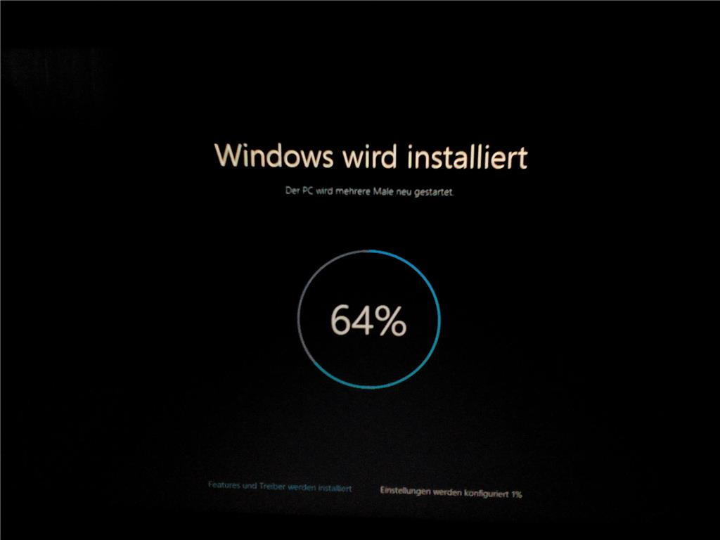 Windows Wird Vorbereitet Win 10