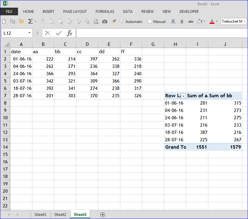 Excel - pivot table does not group dates - Microsoft Community