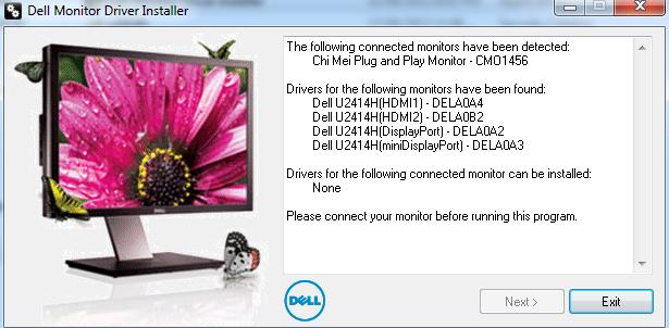 Displayport won't detect external monitor (Win7) - Microsoft