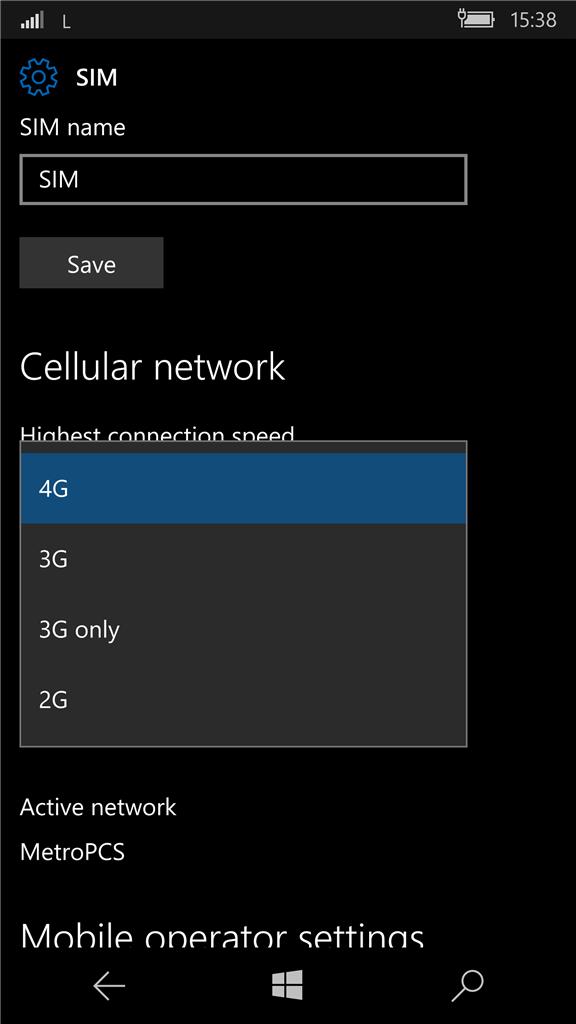 Lumia 950 v  MetroPCS 4G/LTE - Microsoft Community
