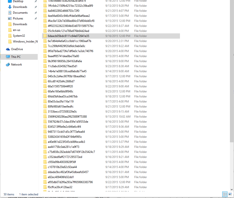 Random folders in my C: drive are being created ...