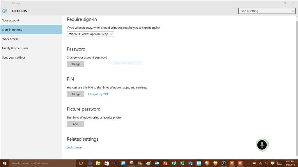 lenovo password screen not appearing