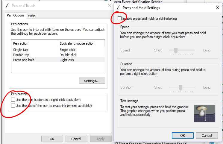 Can\u0027t disable press-and-hold-right-click functionality in Windows