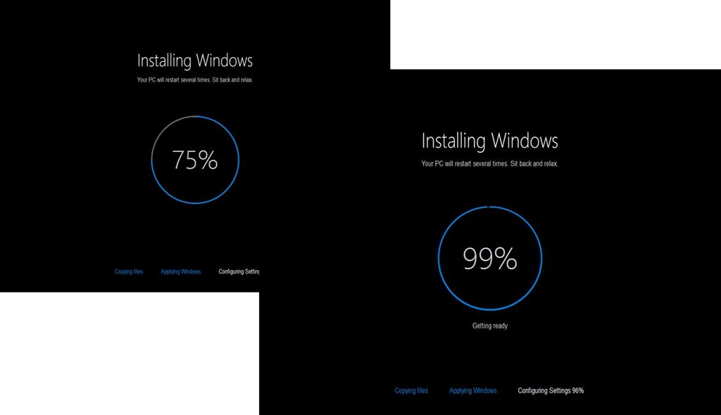 How to upgrade a dual boot installation of windows and linux to setup will go through its installation phases each time your computer restarts you must select the windows loader in order for setup to continue and ccuart Gallery