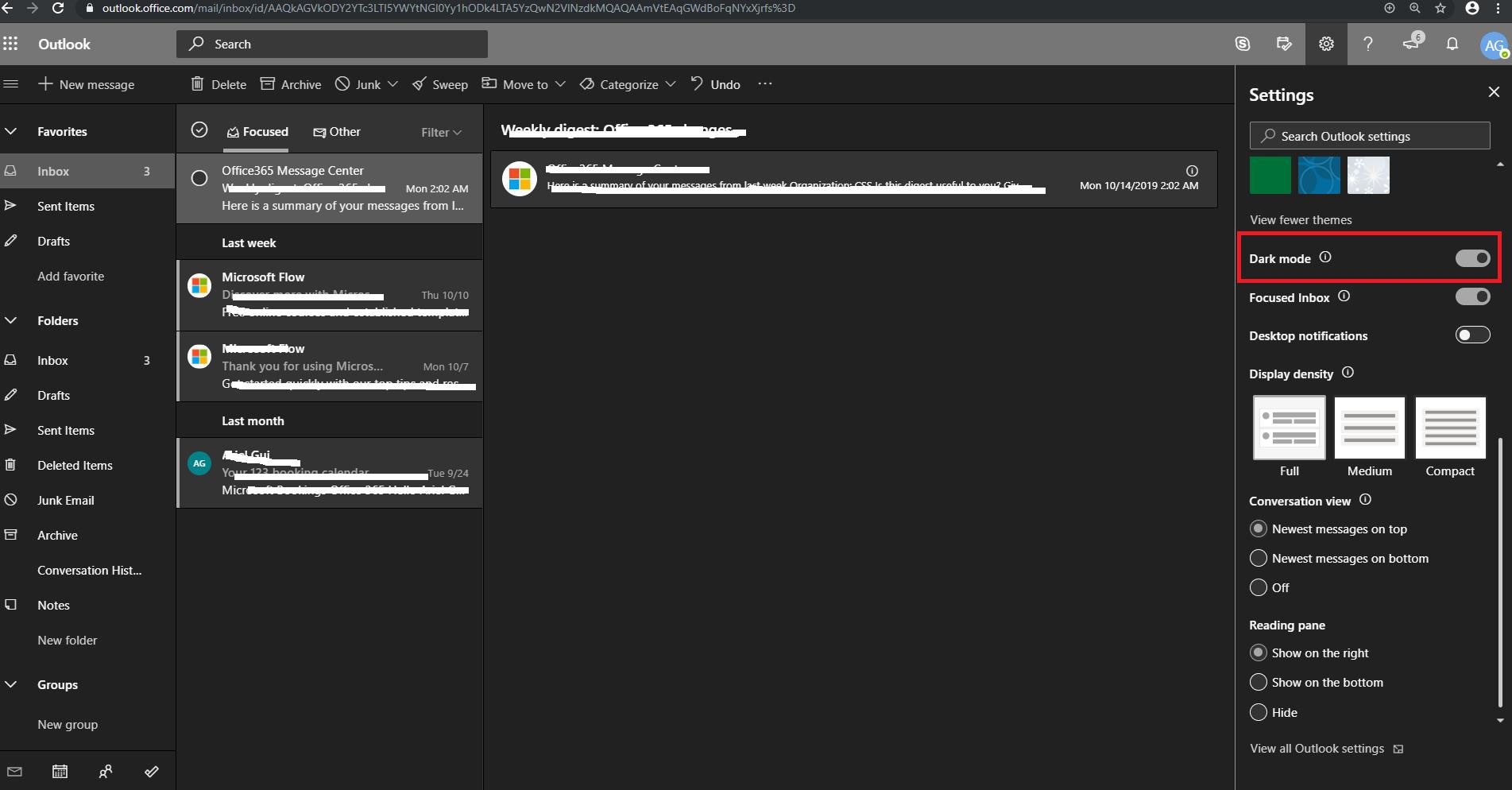 Office Theme Black And No Switch Background Option Microsoft Community