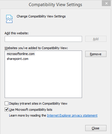 Office 365 top navigation bar disappears intermittently when