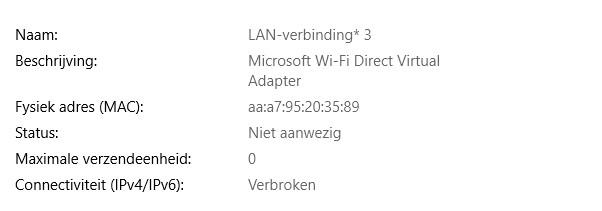 Wifi Op Laptop Niet Meer Beschikbaar Alleen Ethernet Na