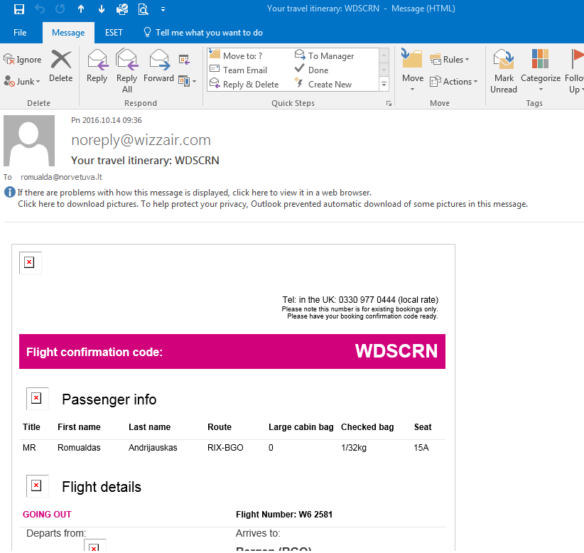 Outlook 2016 printing disabled images - Microsoft Community