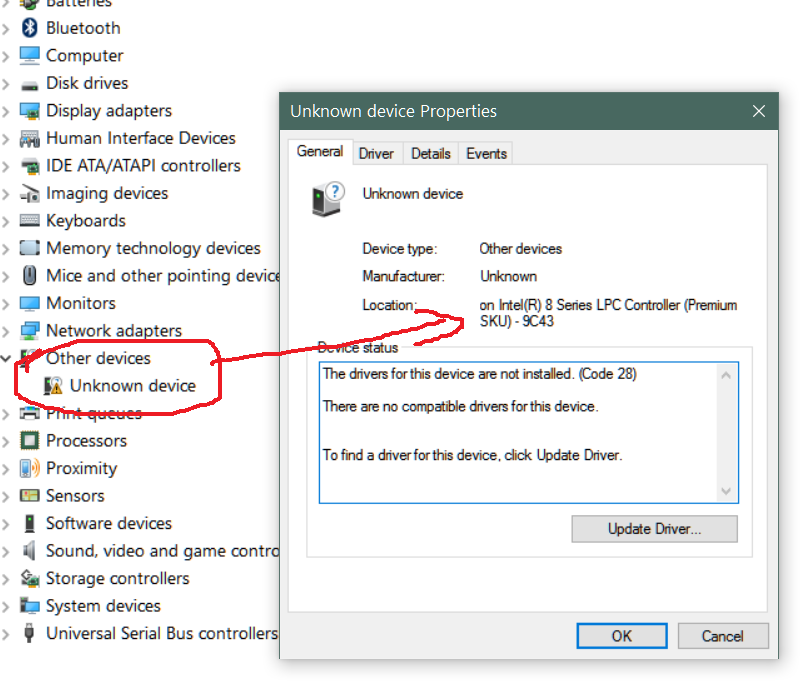 Intel(R) LPC Controller— A2DD