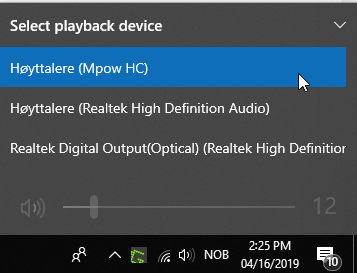 Sound Keeps Playing From Same Output Device Even After Changing Microsoft Community