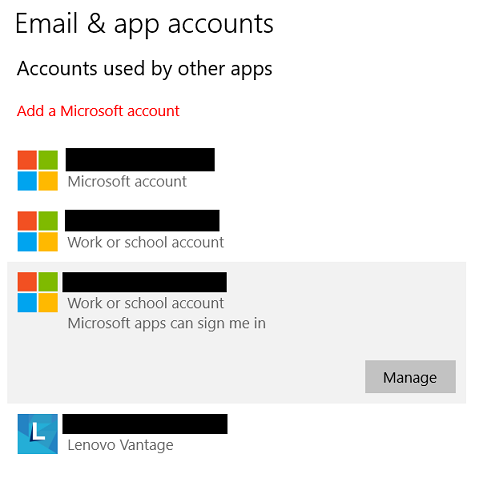 How to remove account that I no longer have access to
