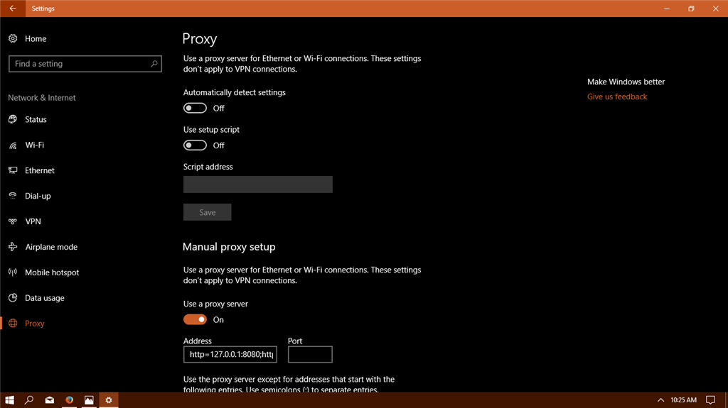 How to disable proxy server - Microsoft Community