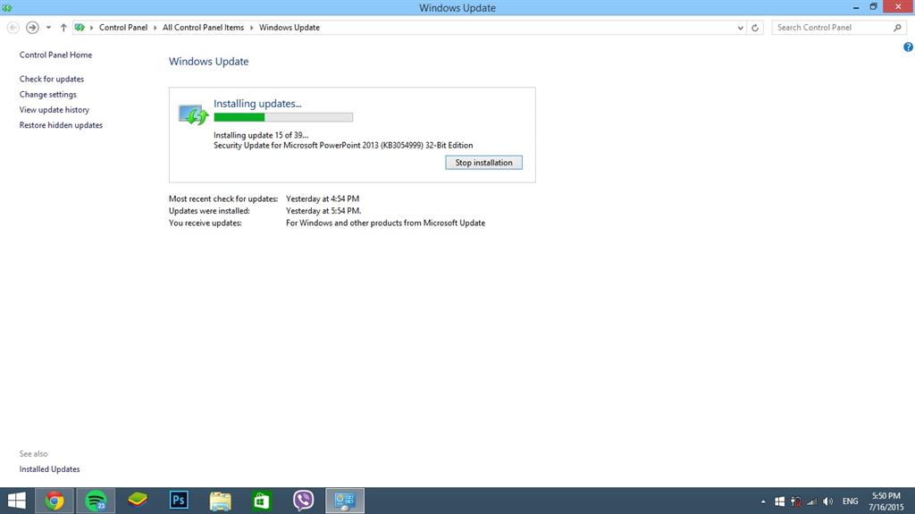 Windows 7 update hangs at 32 can you install updates safe mode windows update