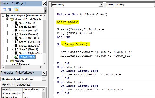 Where should excel vba onkey event be stored microsoft community image ibookread ePUb