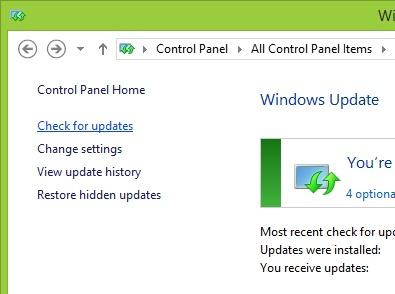 Windows Update Standalone Installer encountered an error