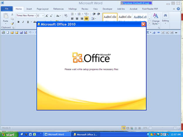 MICROSOFT OFFICE 2010 INSTALLATION AND REPAIR PROBLEM - Microsoft