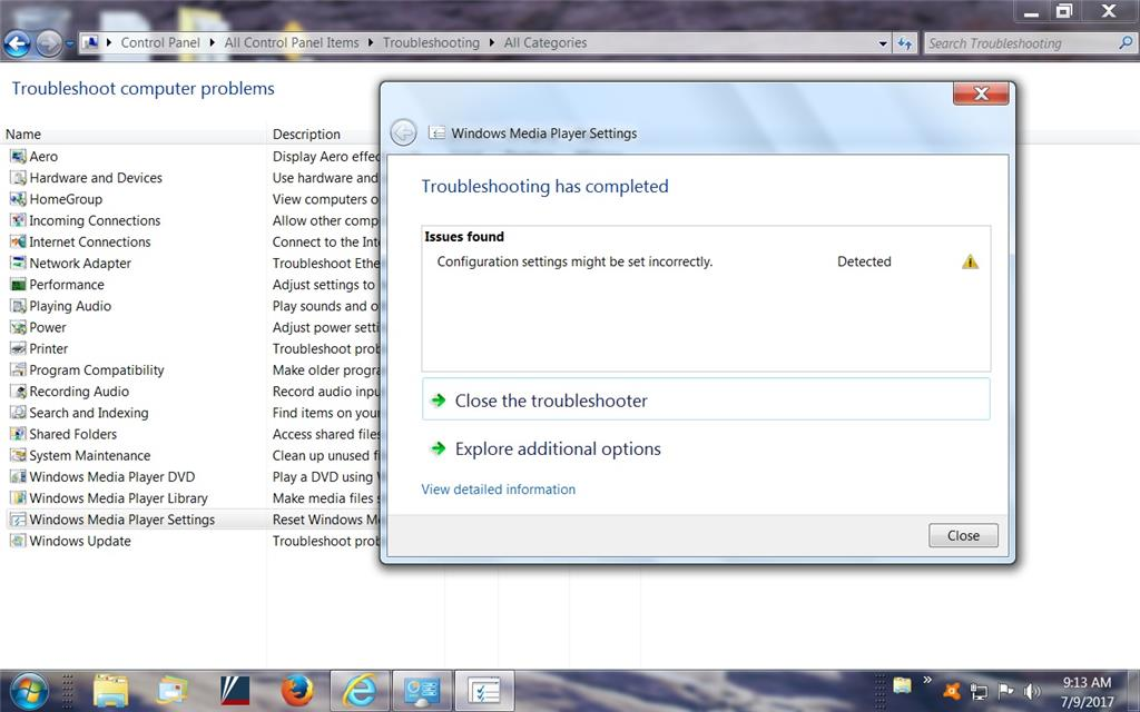 Windows Media Player video problems? - Microsoft Community