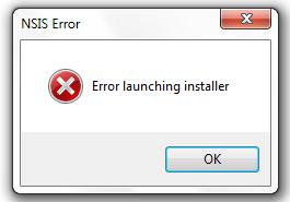 launching installer
