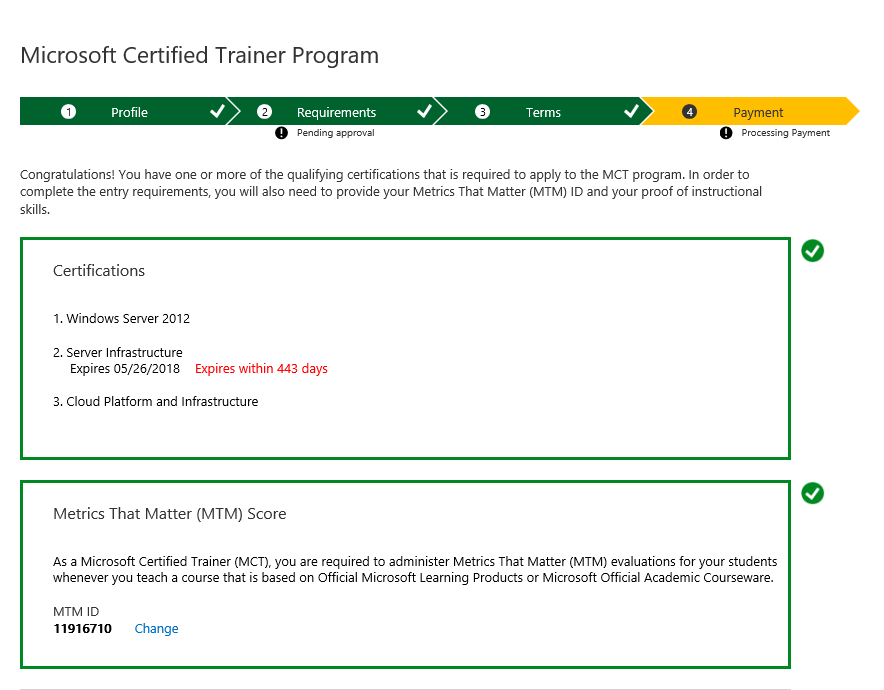 Mct Enrollment Tool Training Certification And Program Support