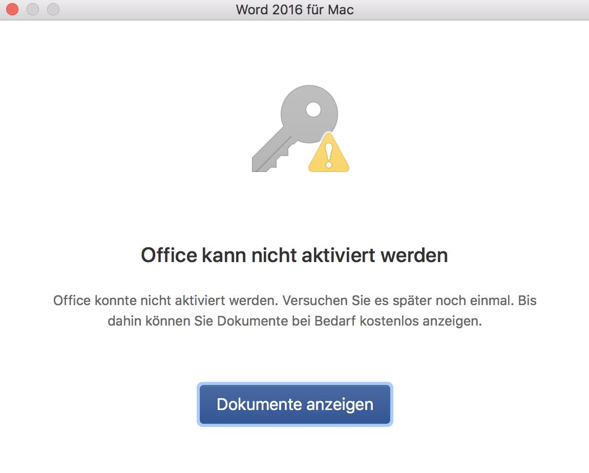 Office Kann Nicht Aktiviert Werden Microsoft Community