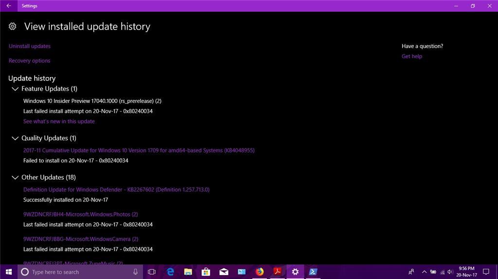 Windows Update Error 0x80240034 Microsoft Community - induced info