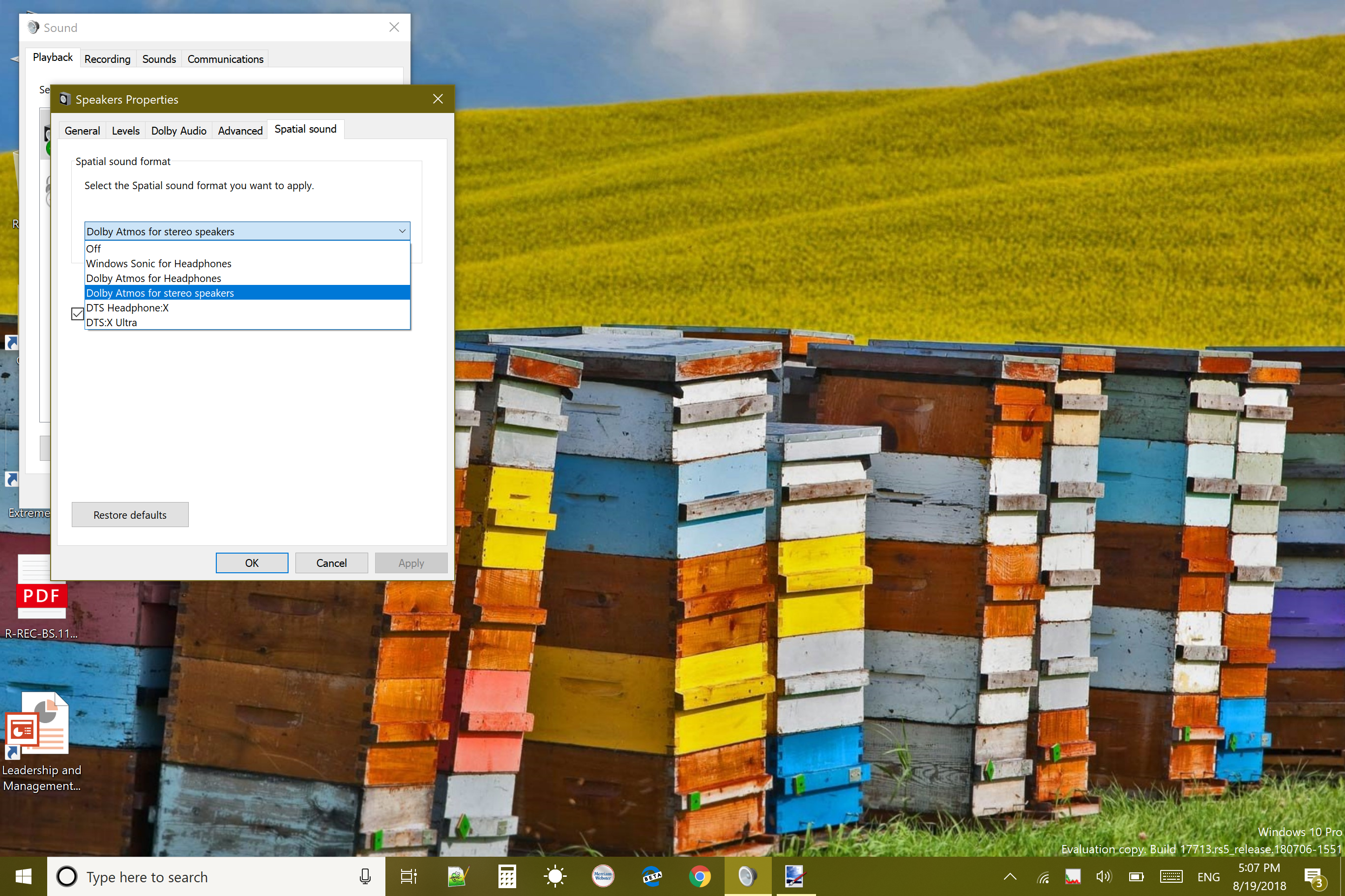 Where is DTS:X? - Microsoft Community