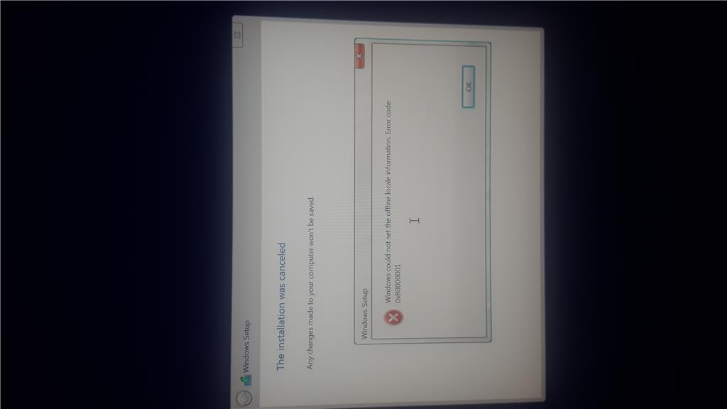 Can't install Windows 10 on a Mac computer  Error code: - Microsoft