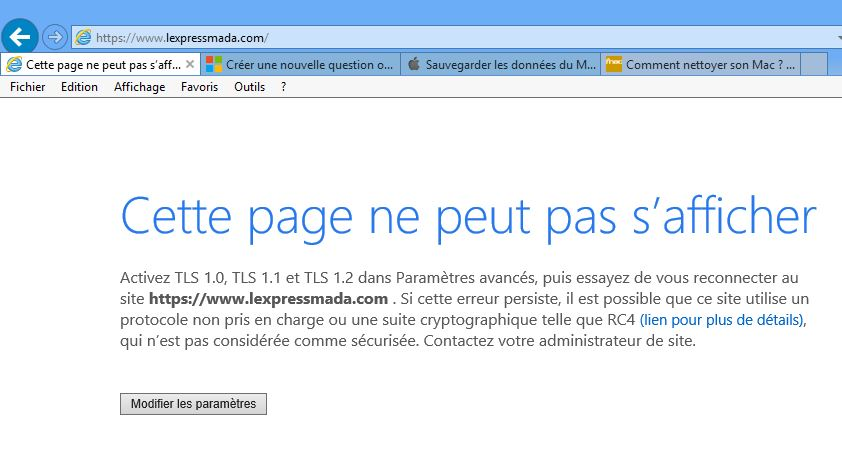 Internet Explorer 11 Sous Session Compte Invite Windows