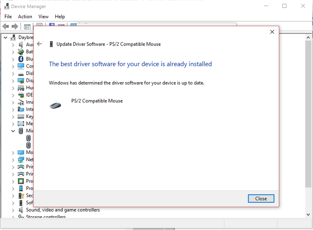 Laptop Trackpad not working after Windows 10 Upgrade - Microsoft