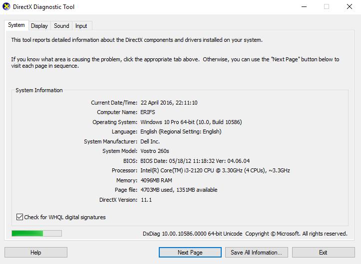 Naruto UNS 4 error : DX 11 device creation fail : 0x80010010