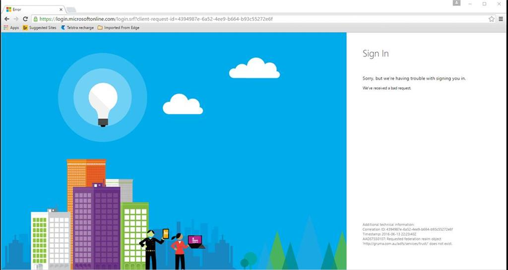 login microsoft on line
