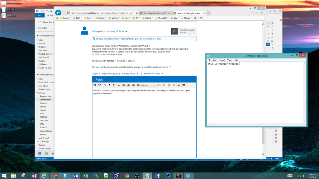 How To Disable Split Screen In Windows 8 81