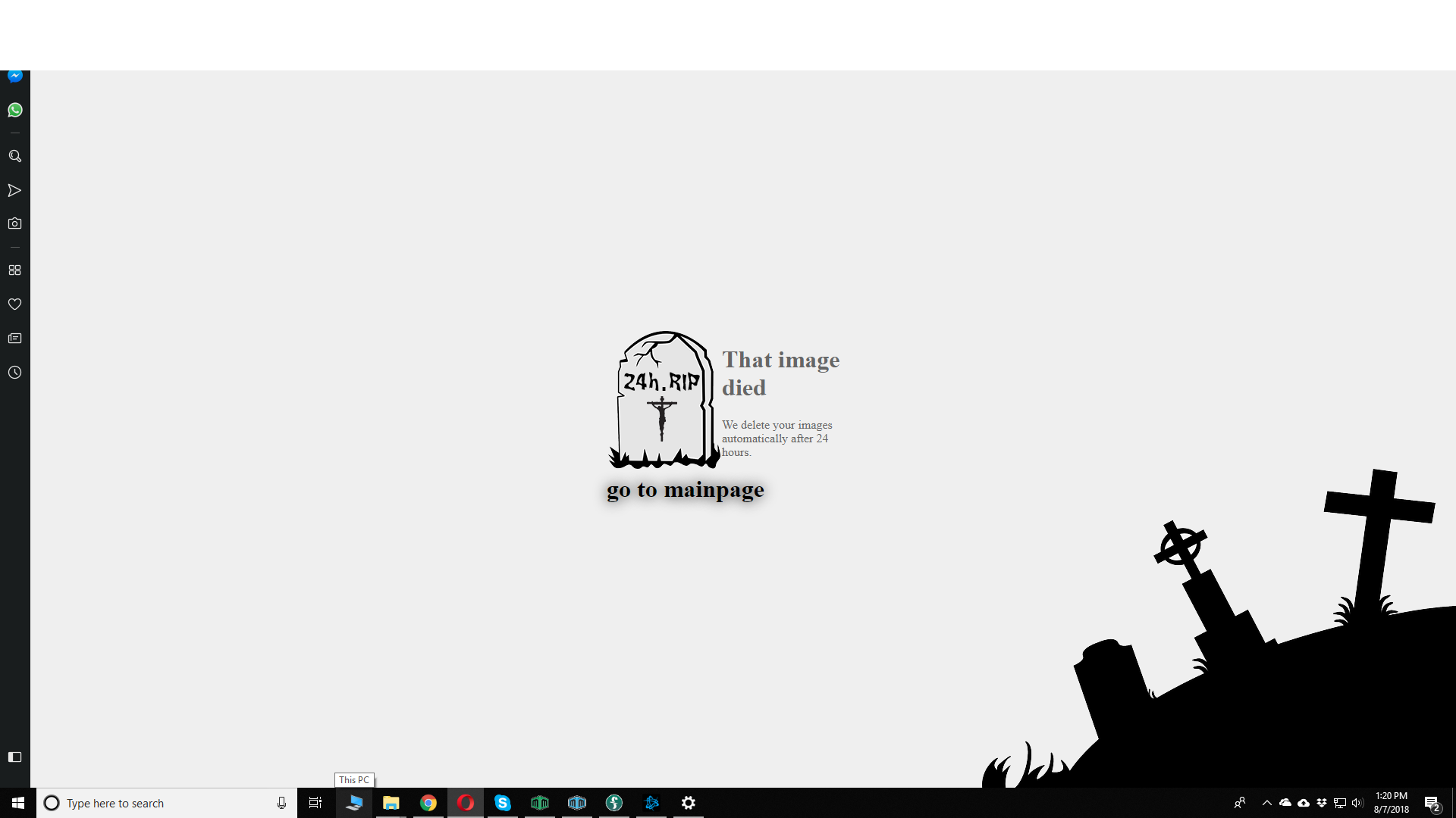 White bar covering top portion of Windows Explorer on