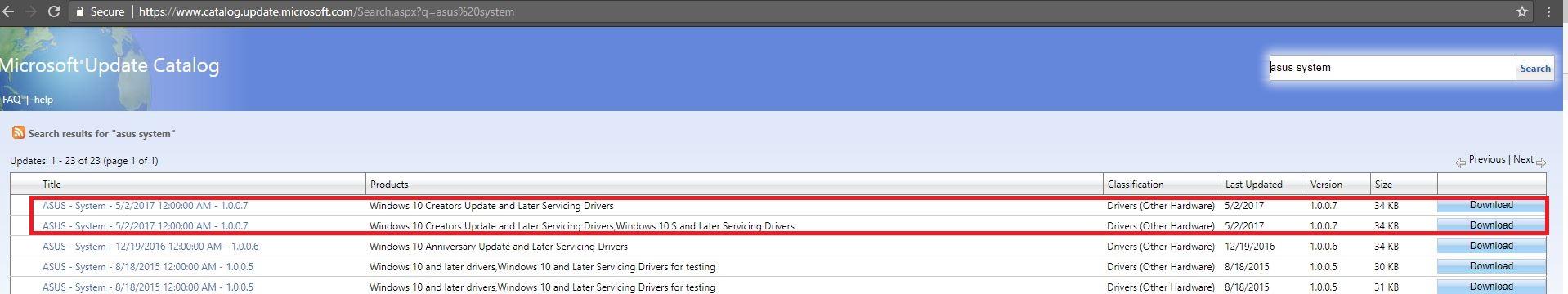 microsoft update drivers windows 8