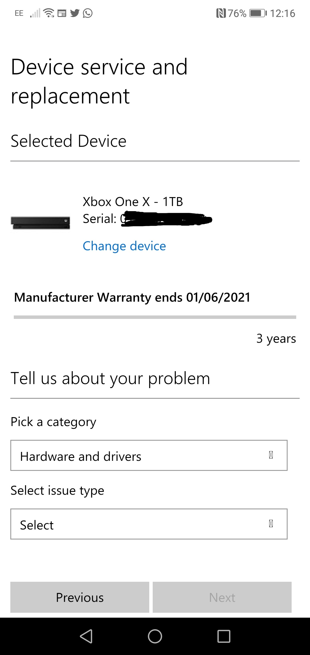 Was my Xbox one sold to someone else before me? [​IMG]