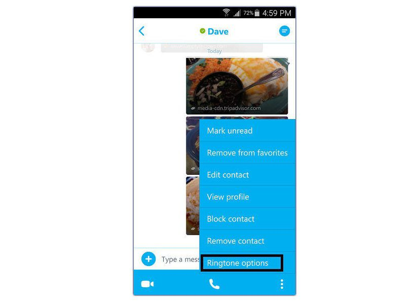 Change Skype Ringtone on Samsung Android - Microsoft Community