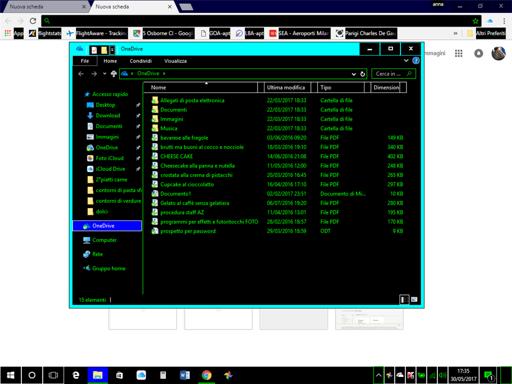 Colore Dei Nomi Delle Cartelle Sul Desktop Microsoft Community