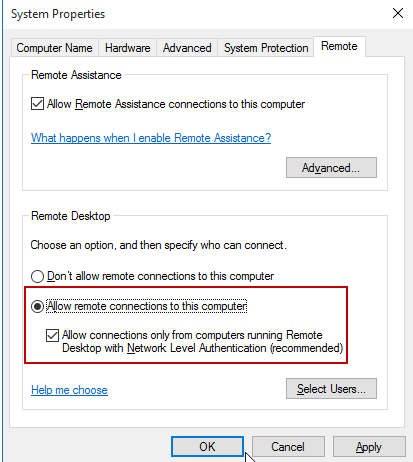 Microsoft Remote Destop Version 8 0 37 (Build 27246) does not