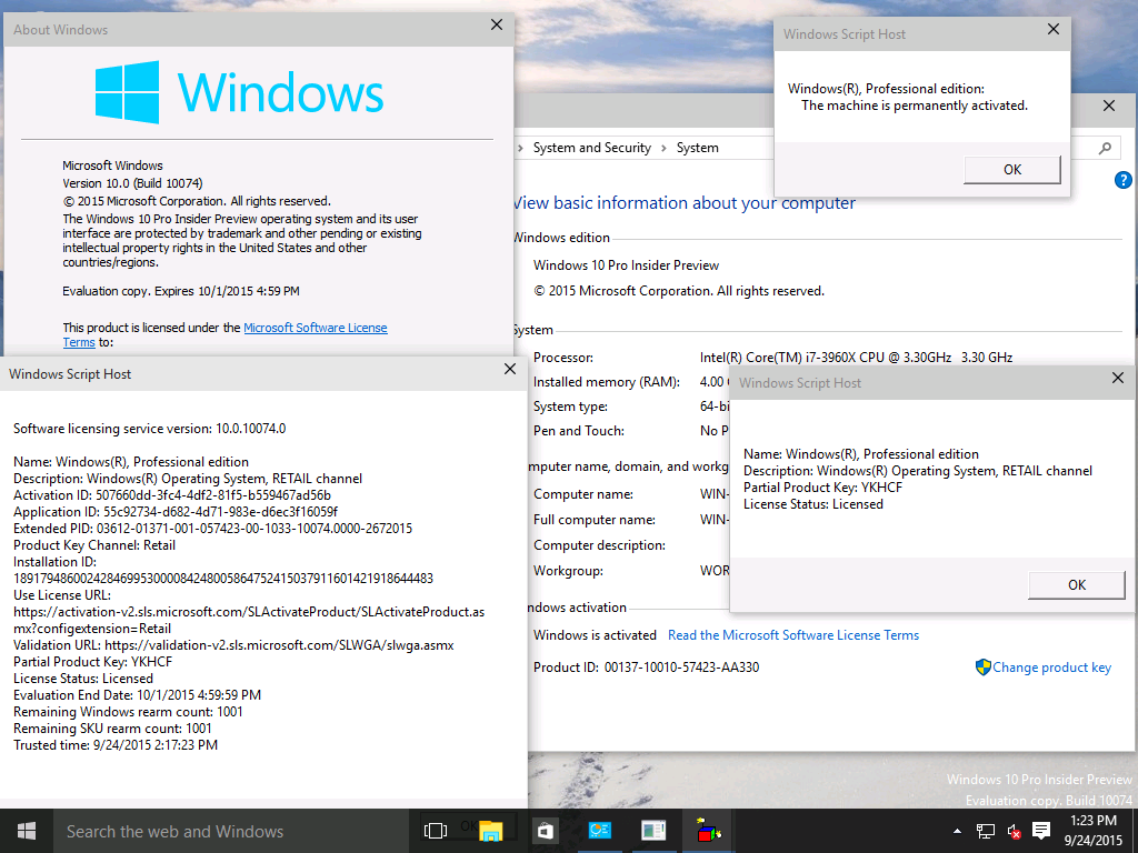 Activation after reinstallation of windows 10 insider microsoft image ccuart Images