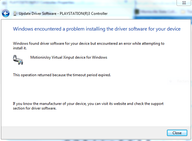 Windows Encountered A Problem Installing Drivers On Your Device Help Microsoft Community