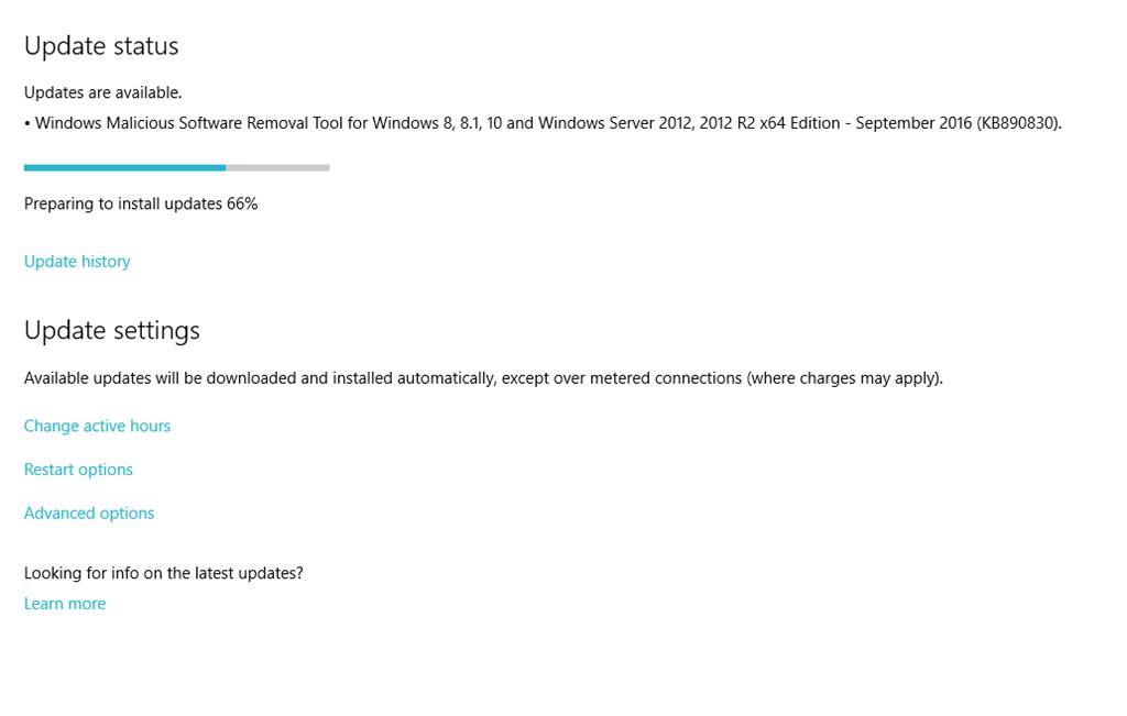 WIndows 10 Anniversary update slow internet speed when