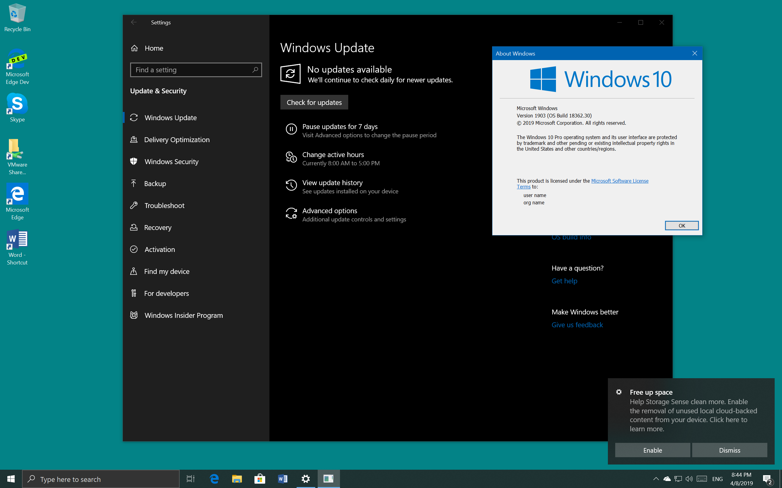 How to Upgrade to Windows 10 Feature Update 1903 using ISO