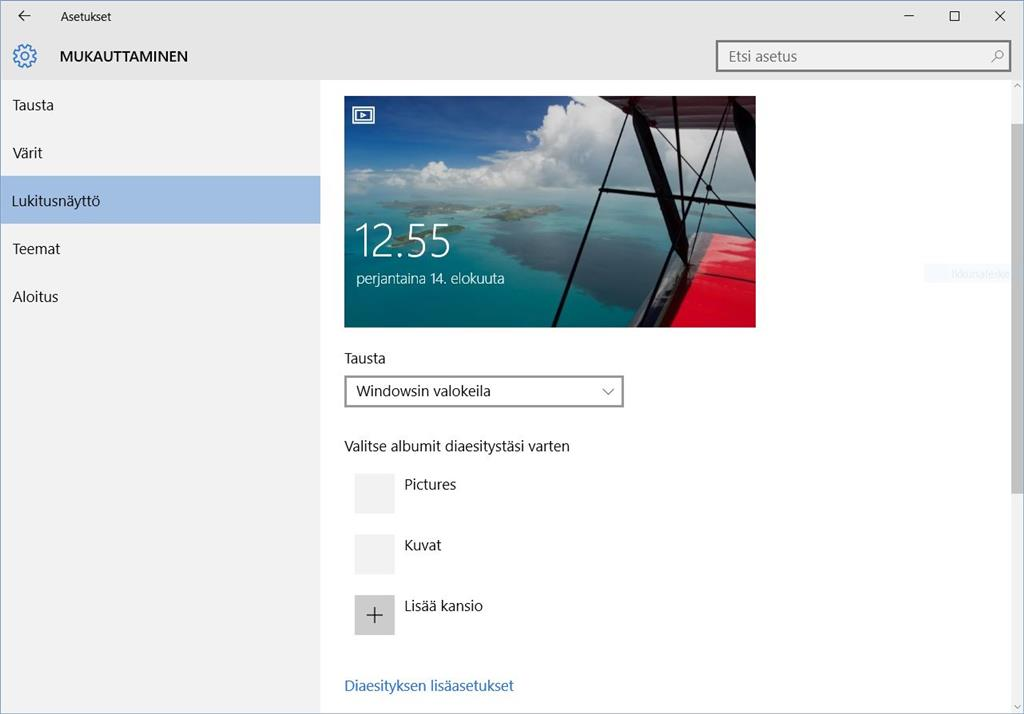 how to change lock screen windows 10