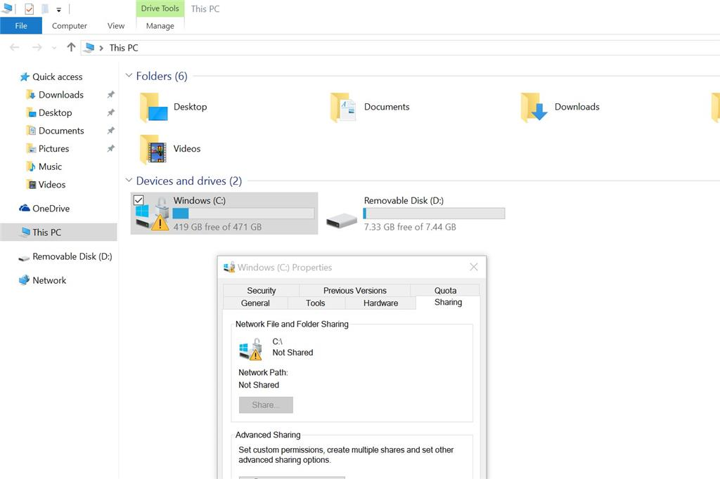 Windows 10 yellow triangle - Microsoft Community