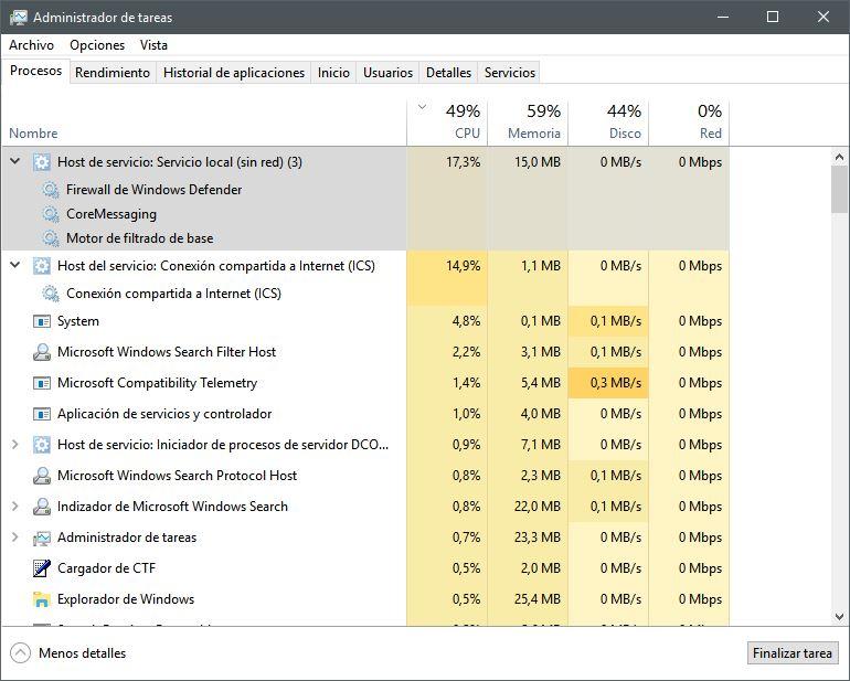 cpu 100 windows 8 solucion